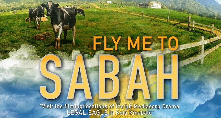 Fly me to Sabah Banner